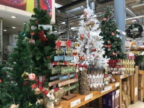 Christmas en el super (foto de 20 de octubre)